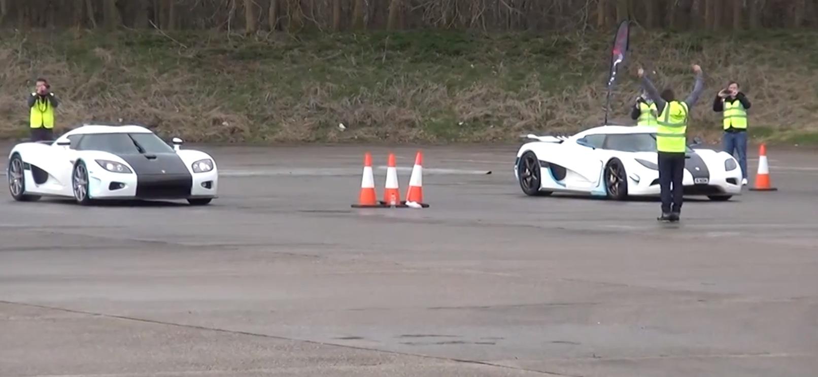 Koenigsegg Agera N Races Koenigsegg Ccx Shows How The Company