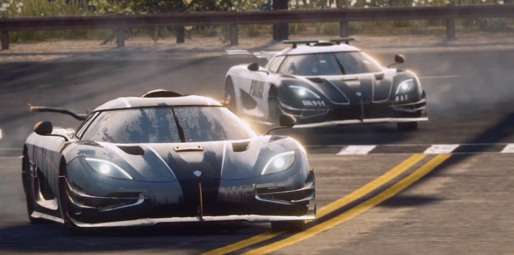 Koenigsegg One1 Becomes A Police Car In NFS Rivals