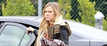 Kristen Bell Drives a Black Chevy Volt