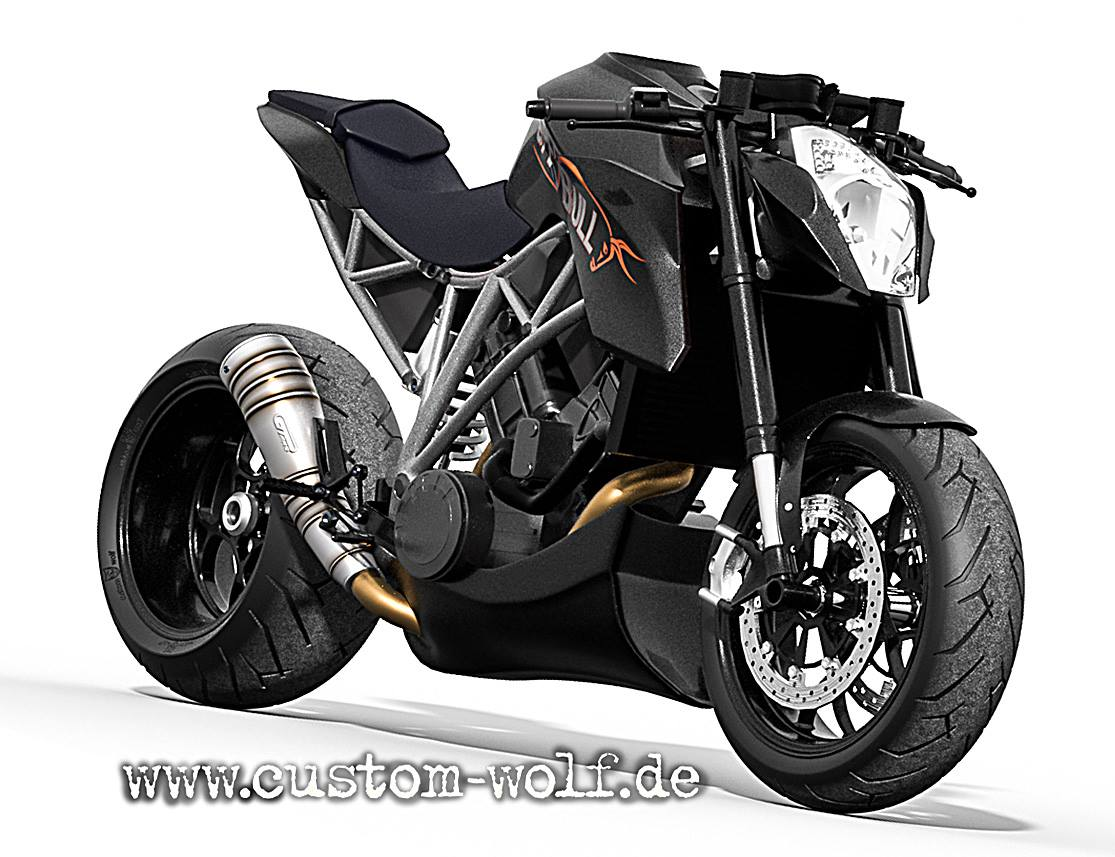 ktm 1290 super duke r becomes speed bull concept autoevolution. Black Bedroom Furniture Sets. Home Design Ideas