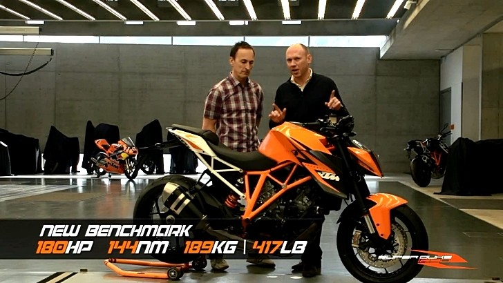 KTM 1290 Super Duke R Features and Benefits [Video]