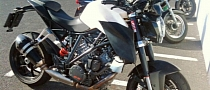 KTM 1290 Super Duke Spy Shots Show Different Headlights