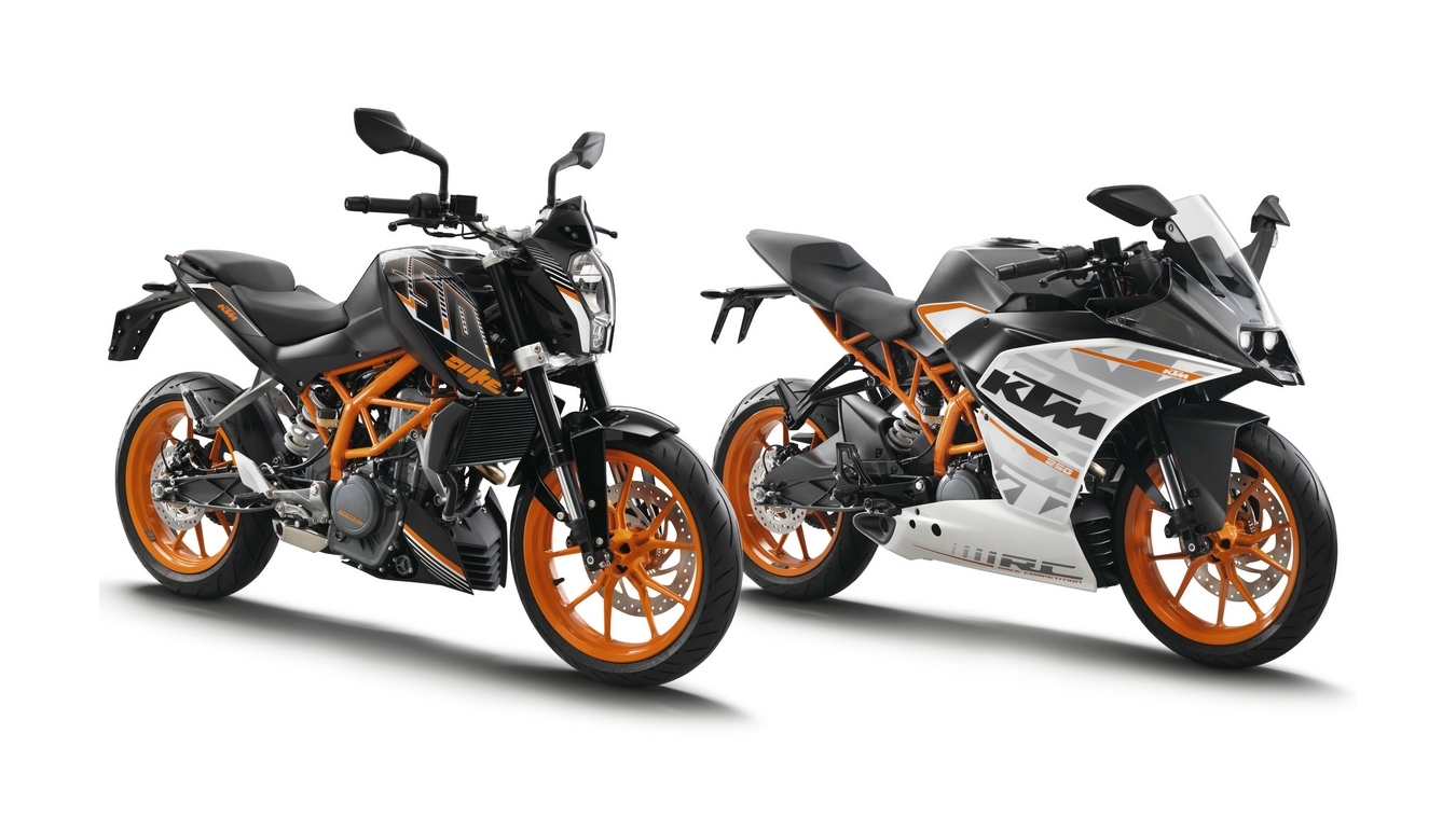 Ktm Introduces 250 Duke And Rc250 At The Tokyo Motor Show