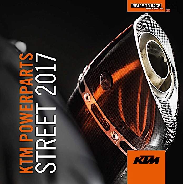 ktm launches new powerwear and powerparts for 2017 - autoevolution