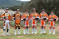 The KTM Enduro Factory Racing riders