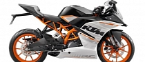 KTM RC390 Specs Surface