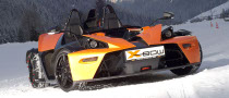KTM's X-Bow is Now Fitted for Winter Fun