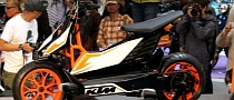 KTM Unveils E-SPEED, the Electric Scooter