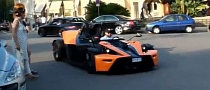 KTM X-Bow Turns Heads in Monaco [Video]