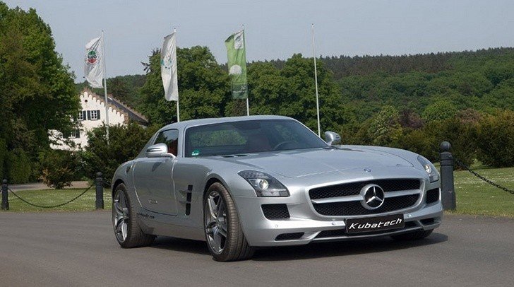 kubatech mercedes sls amg gets ecu remap autoevolution. Black Bedroom Furniture Sets. Home Design Ideas