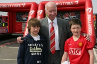 Sir Bobby Charlton, Manchester United legend