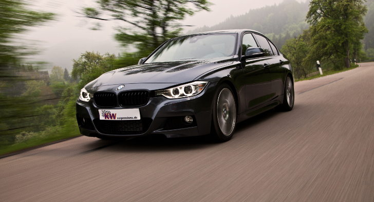 KW Brings More Suspension Options for BMW's xDrive F30 Models [Photo Gallery]