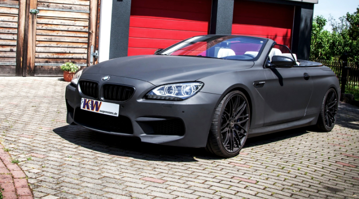 KW Launches BMW M6 Coupe and Convertible Coilovers