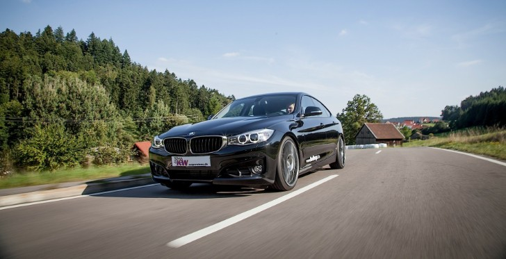 Dampers For Cars : Kw releases custom adaptive dampers for bmw series gt