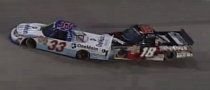 Kyle Busch Spins Ron Hornaday Intentionally, Gets a Ban [Video]