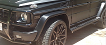 Kylie Jenner Has a Black Mercedes G-Class Even Though She's 15