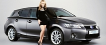 Kylie Minogue's Lexus CT 200h Raises Money for Charity