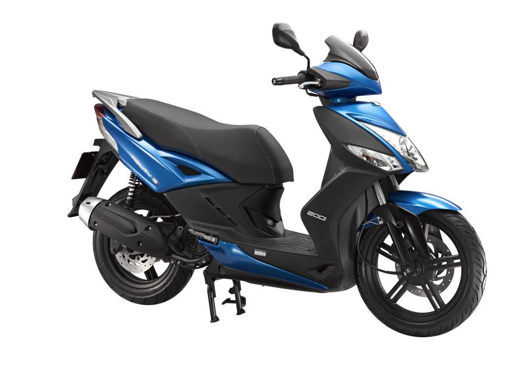 kymco brings agility 16 200cc scooter adds abs to more models autoevolution. Black Bedroom Furniture Sets. Home Design Ideas