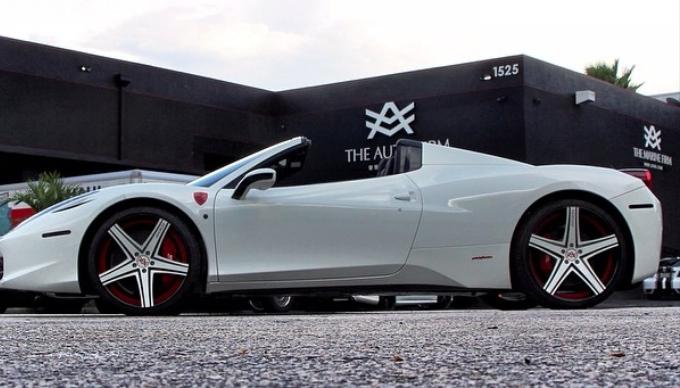 L A Dodgers Juan Uribe Gets His Ferrari 458 Italia Spider