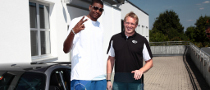 LA Lakers Andrew Bynum Visits Techart