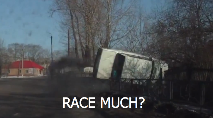 Lada is Not a Racer - Fail [Video]