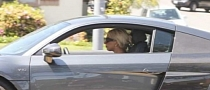 Lady Gaga Buys Audi R8 [Photo Gallery]