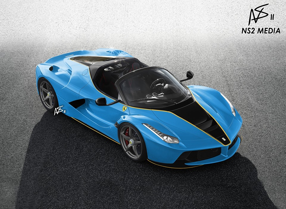 Laferrari Aperta Rendered In Stunning Liveries A Ferrari Tailor Made Preview Autoevolution