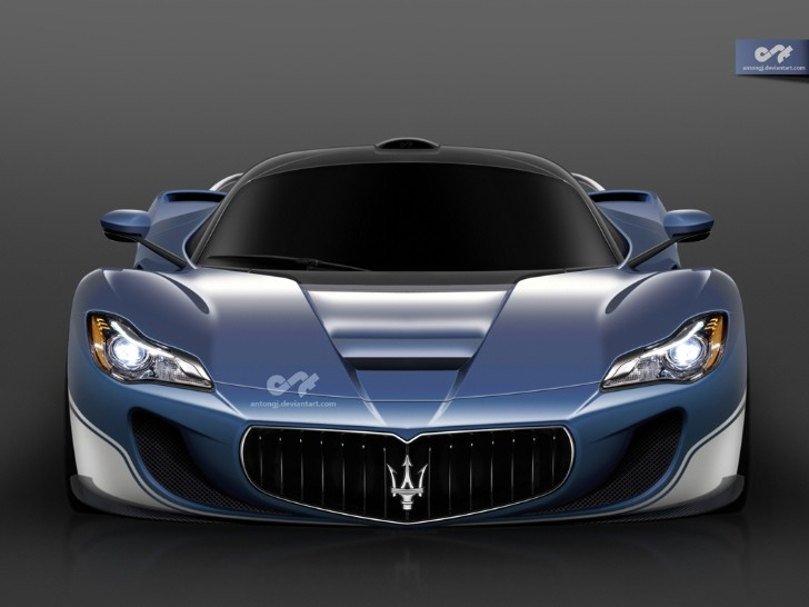 LaFerrari-Based Maserati Rendered