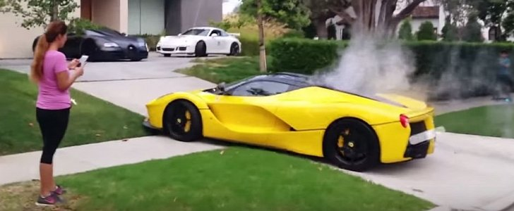 Updated Laferrari Owned By Qatar Sheikh Drives Recklessly