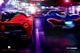 LaFerrari vs McLaren P1 Street Race Rendered