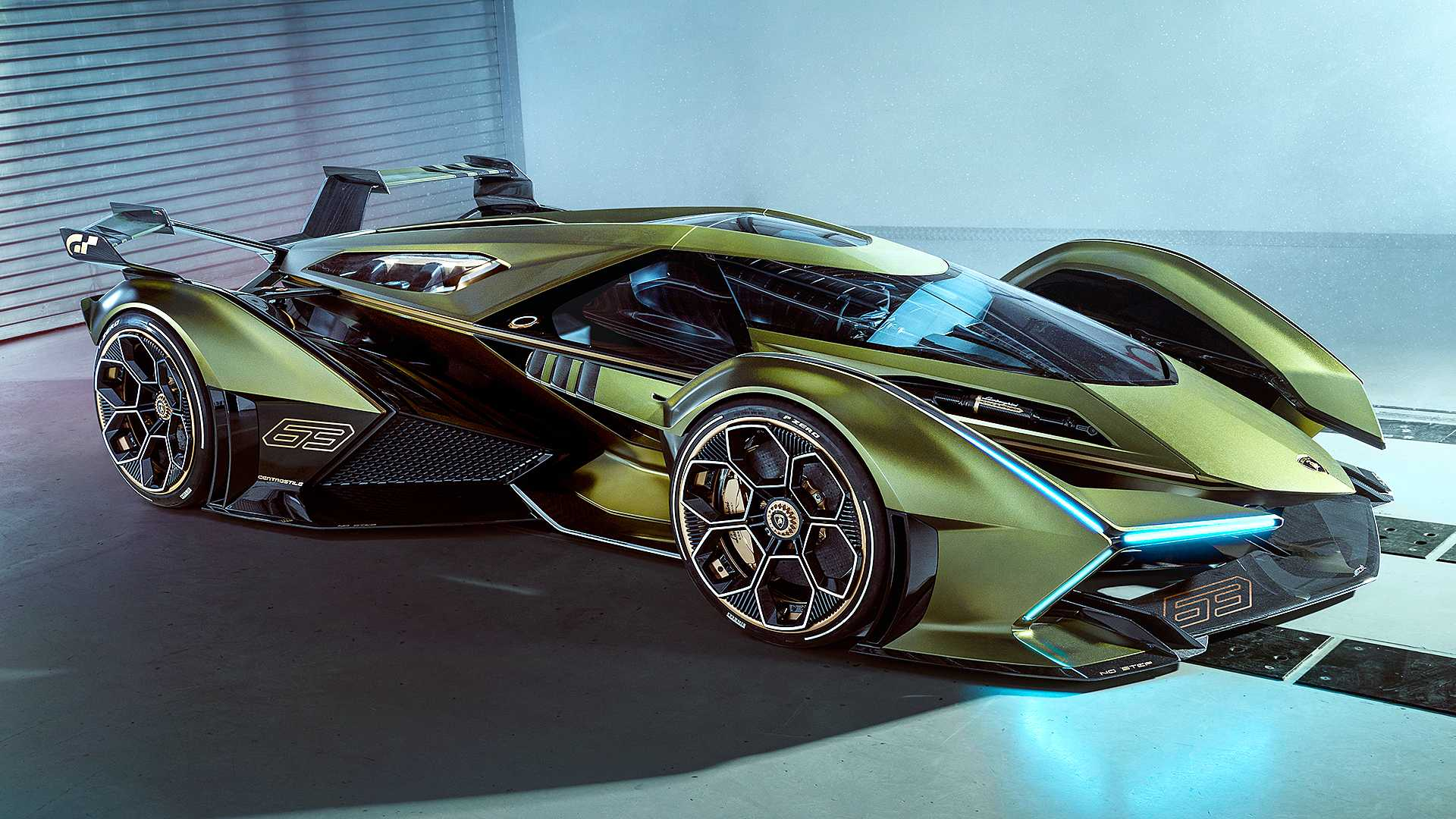 Lambo V12 Vision Gran Turismo revealed as 'the best virtual auto ever'