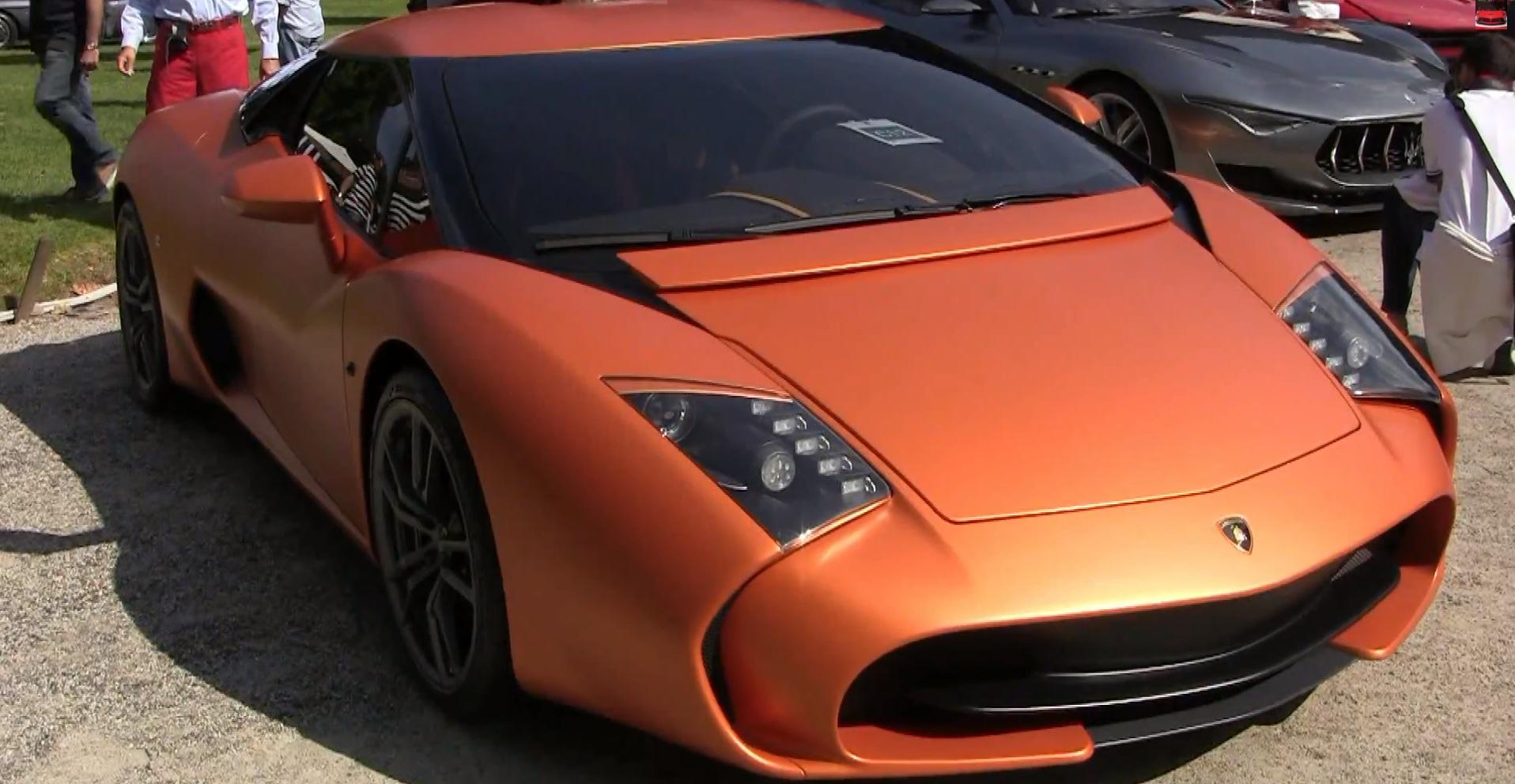 Lamborghini 5-95 Zagato One-Off Unveiled at Villa d'Este - autoevolution