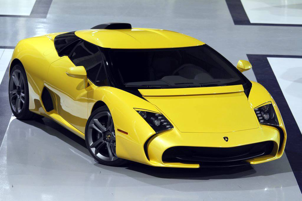 Lamborghini 5 95 Zagato Still Looks Ugly In Yellow