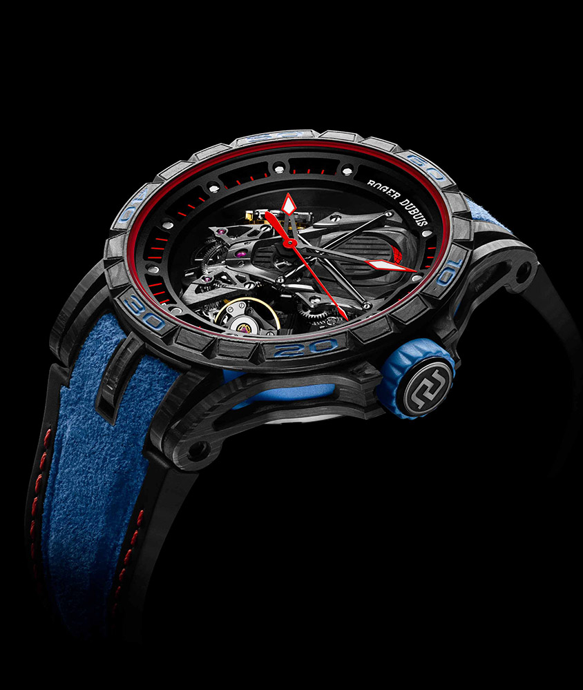 Lamborghini And Roger Dubuis Push Out Lambo Inspired Timepiece