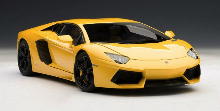 Lamborghini Aventador 1 18 Scale Model The Next Best Thing Autoevolution