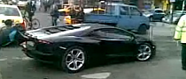 Lamborghini Aventador Breaks Down in Bucharest [Video]