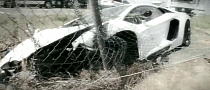 Lamborghini Aventador Crash Video