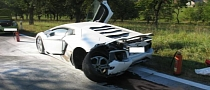 Lamborghini Aventador Crashed in Czech Republic