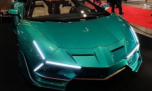 Lamborghini Aventador Gets Crazy Eyeless Body Kit In Japan