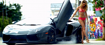 Lamborghini Aventador Is Victoria's Sexy Secret for Summer 2013 [Video]