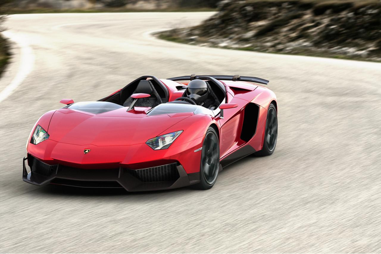 Lamborghini Aventador J Speedster One Off Officially
