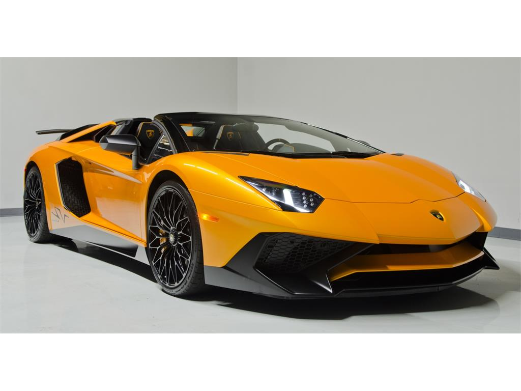 Lamborghini Aventador LP 750-4 SuperVeloce Roadster Listed ...