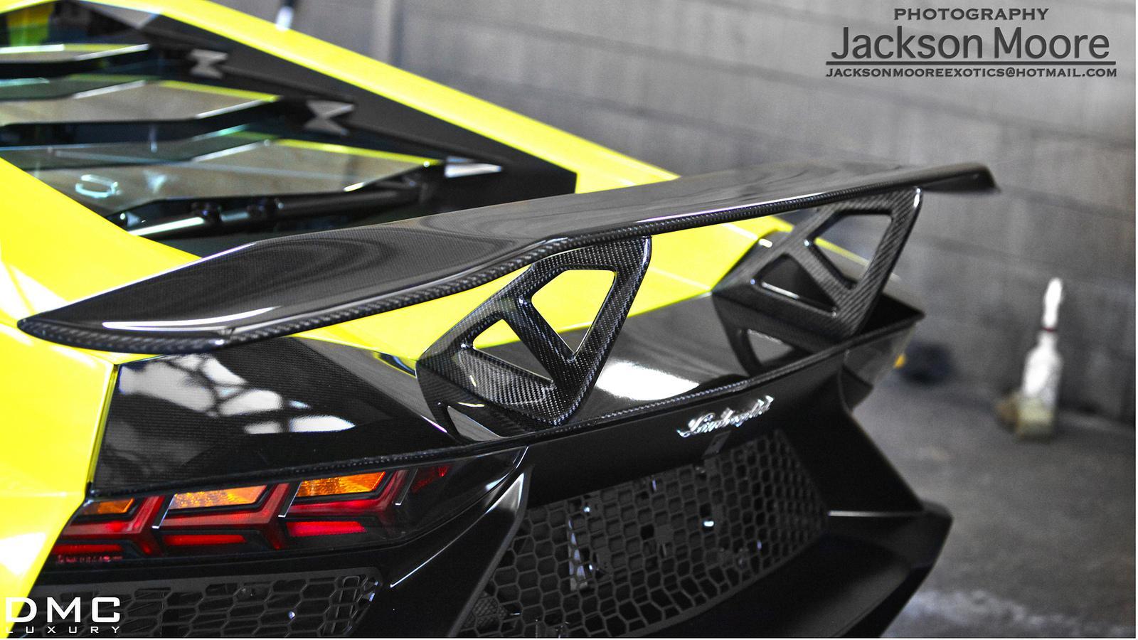 Lamborghini Aventador Lp720 4 50 Anniversario Receives Dmc Rear Wing