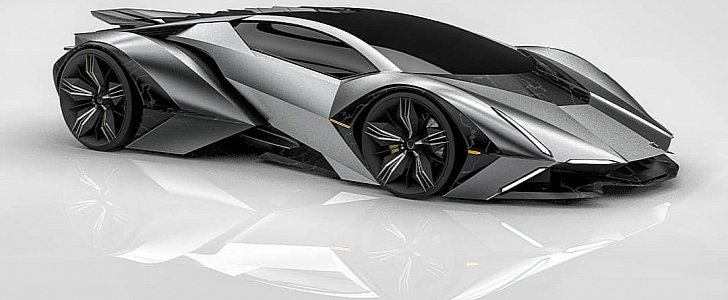 Lamborghini Aventador Replacement Imagined by Young Designer, Looks Spot On  - autoevolution