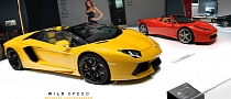 Lamborghini Aventador Roadster Set for Geneva 2012 Debut