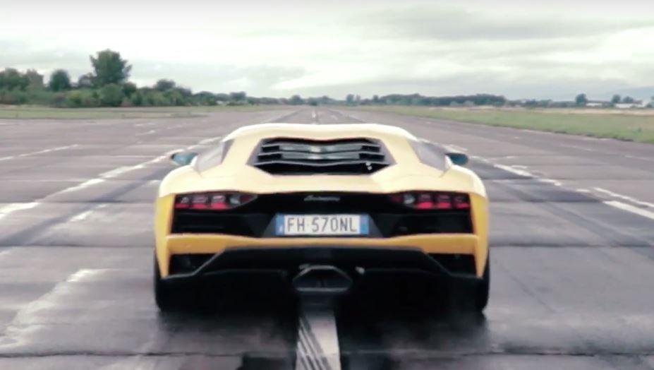 Lamborghini Aventador S 0 124 Mph 200 Km H Acceleration