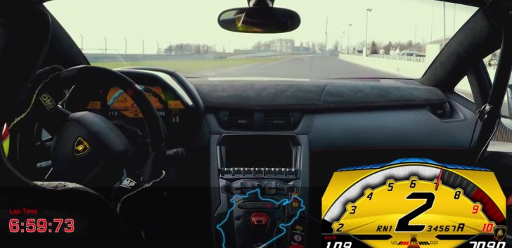 lamborghini aventador sv laps nurburgring in under 7m 3s behind porsche 918 spyder autoevolution. Black Bedroom Furniture Sets. Home Design Ideas