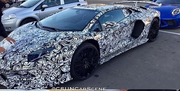 Lamborghini Aventador Sv Successor Spied Has Performante