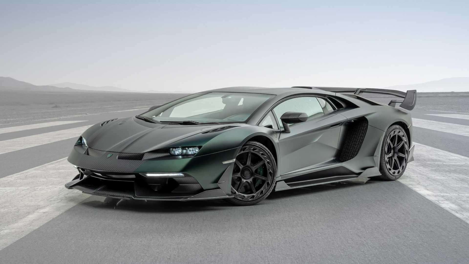 Lamborghini Aventador Svj Cabrera Is Mansory S Idea Of Exclusive Autoevolution