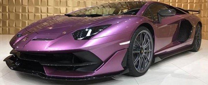Lamborghini Aventador SVJ Shows Viola SE 30 Spec, Looks Electric